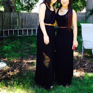 Long black dress 👗